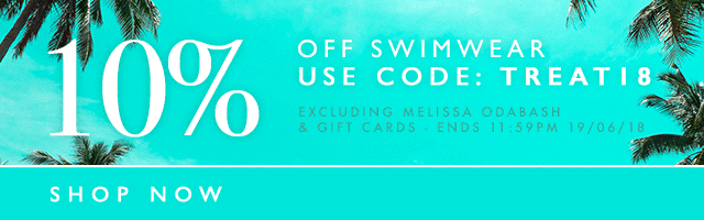 10% Off Swimwear Offer