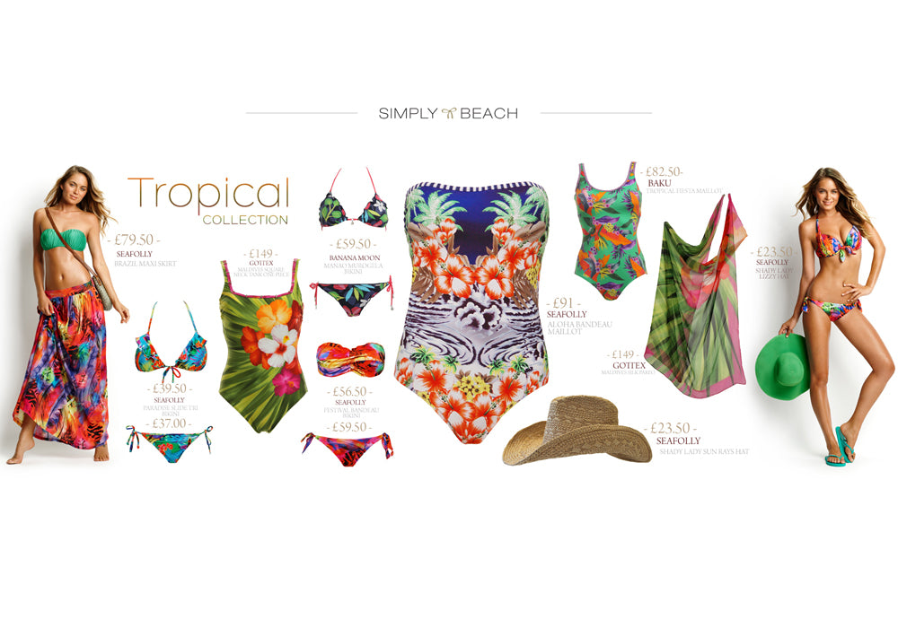 Tropical Swimwear Trend Spring/Summer 2013
