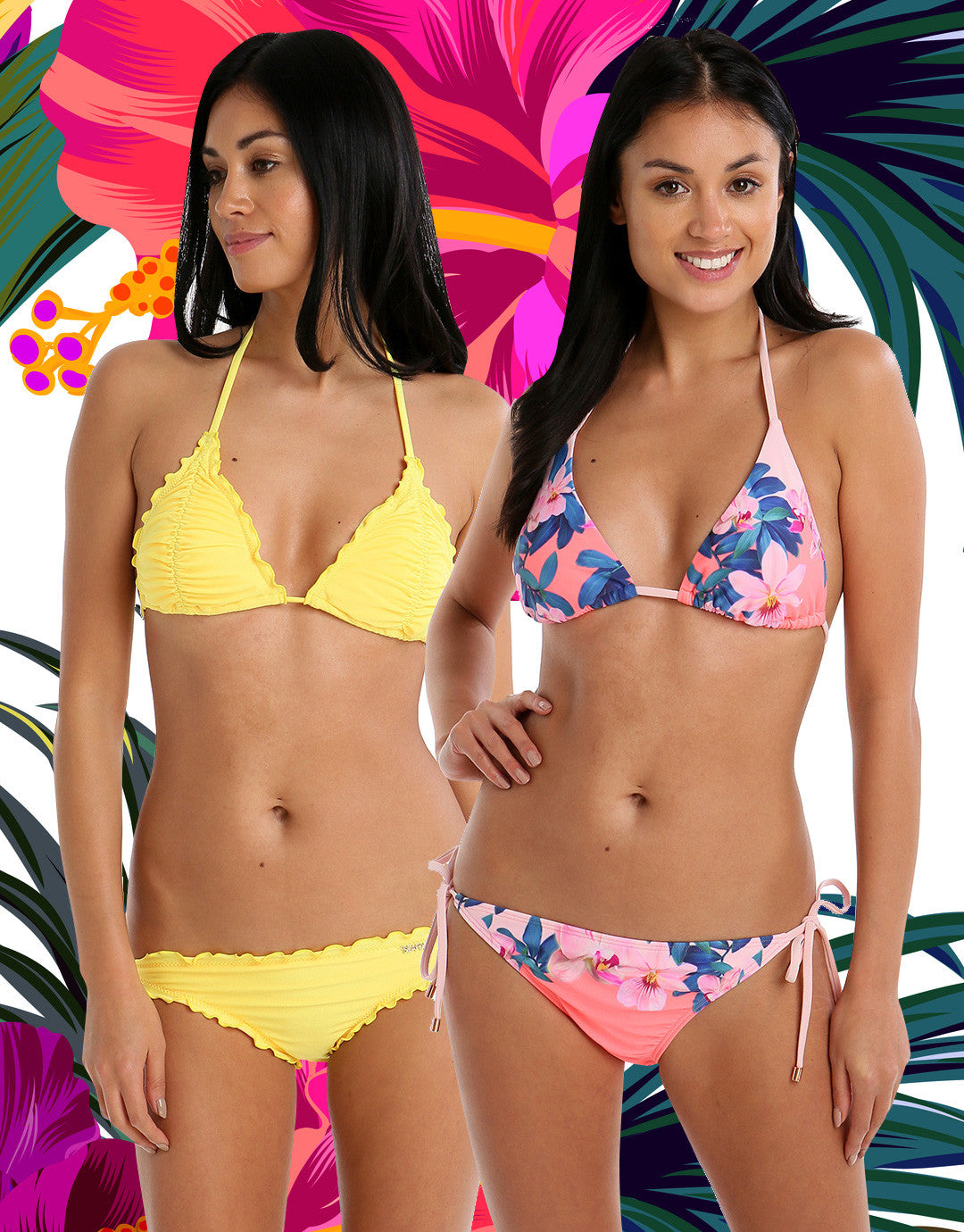 Swimwear For Your Shape Triangle Bikini