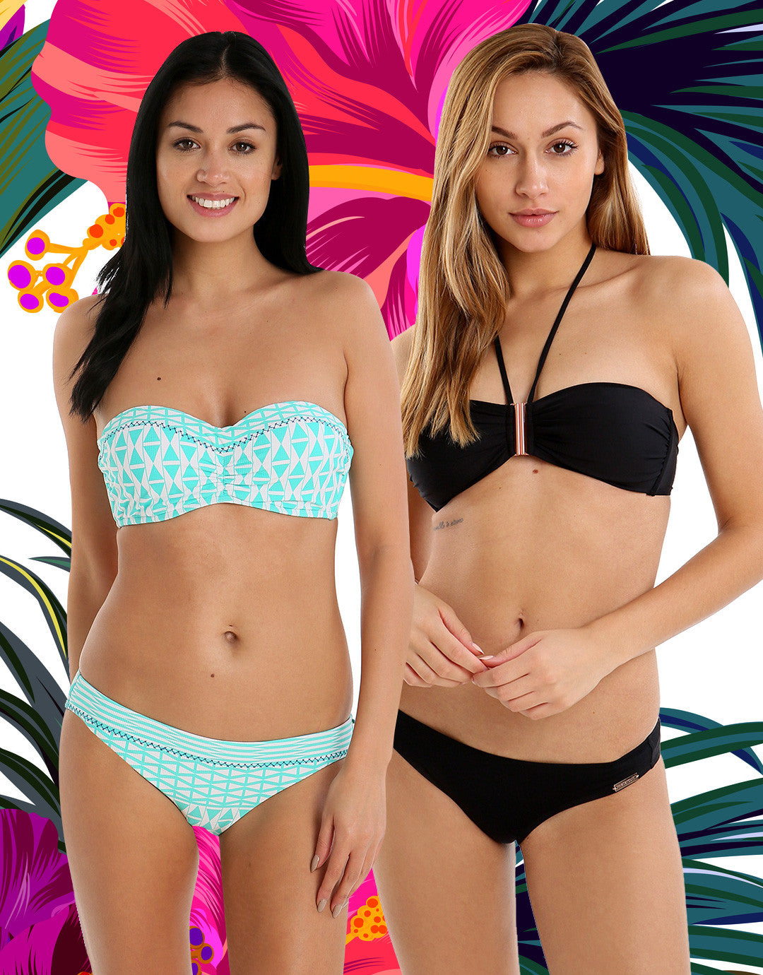 Swimwear For Your Shape Two Piece Bikini
