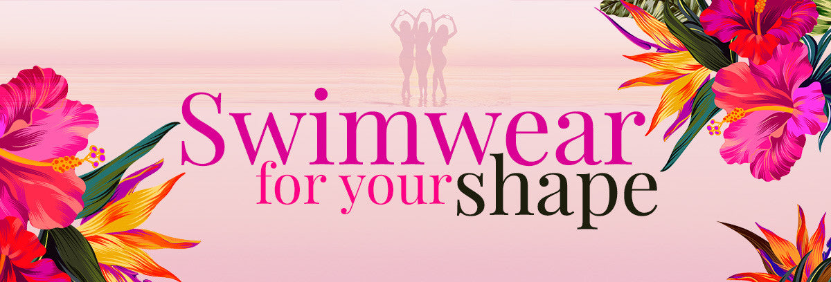 Swimwear For Your Shape Pink Flower