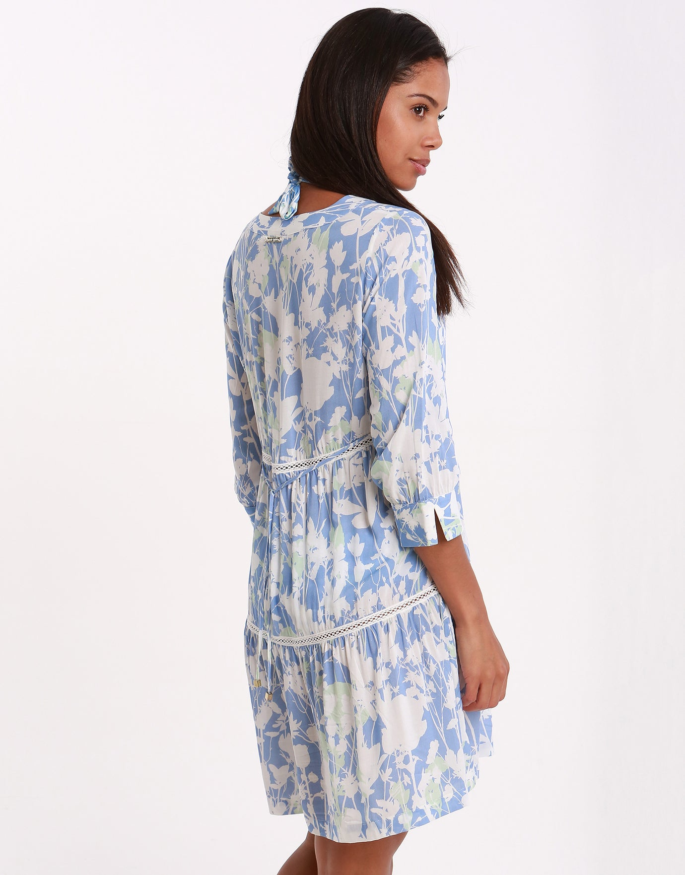 Heidi Klein Langkawi V Neck Tunic Dress - Print