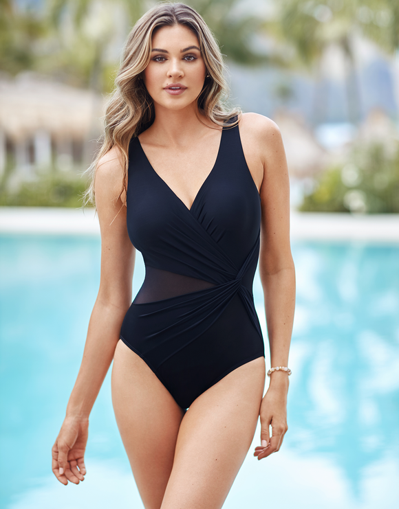 Miraclesuit Illusionist Circe Swimsuit - Black