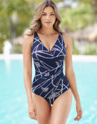 Miraclesuit Thoroughbred Oceanus Swimsuit- Midnight