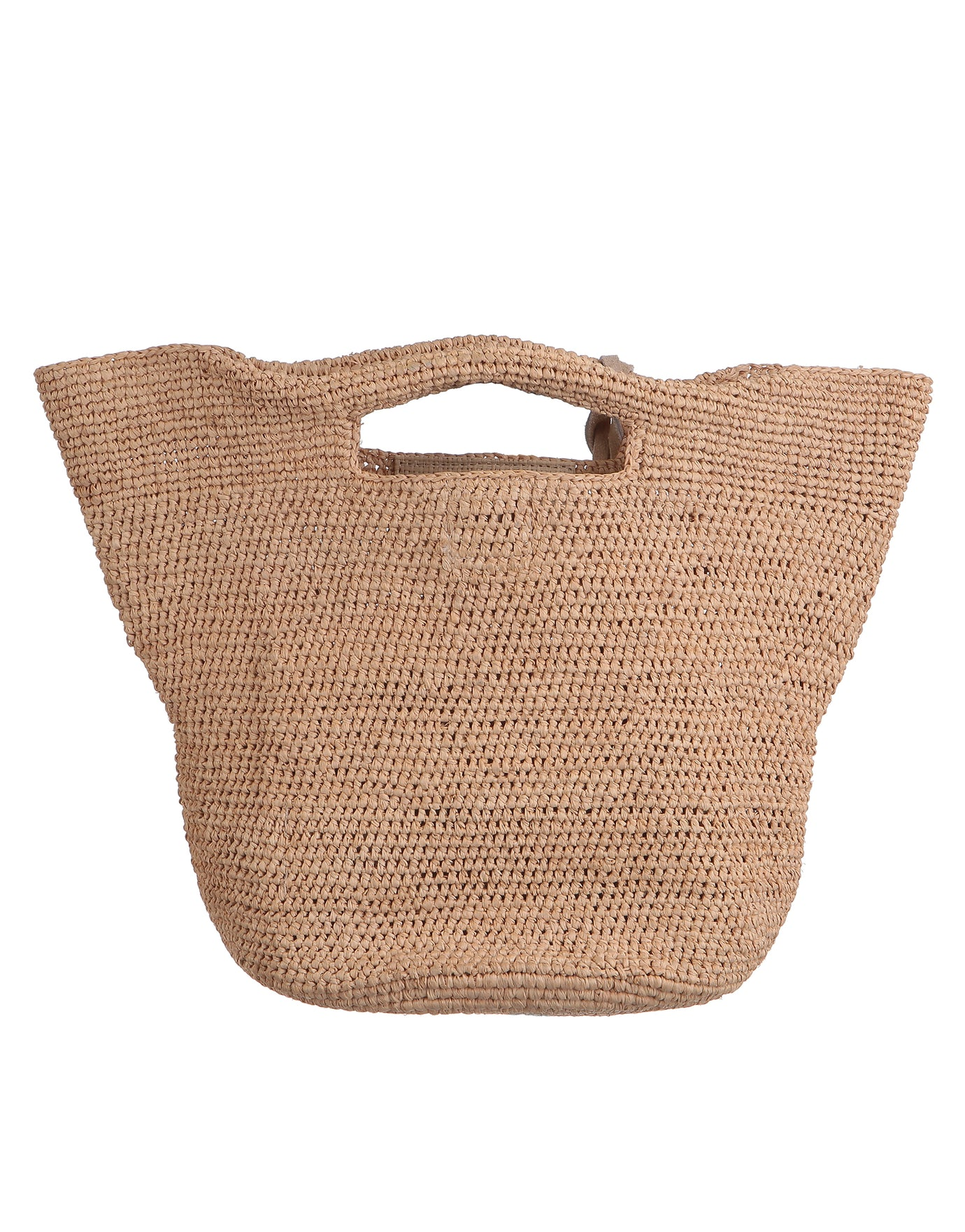 Heidi Klein Grace Bay Super Mini Raffia Bucket Bag - Natural