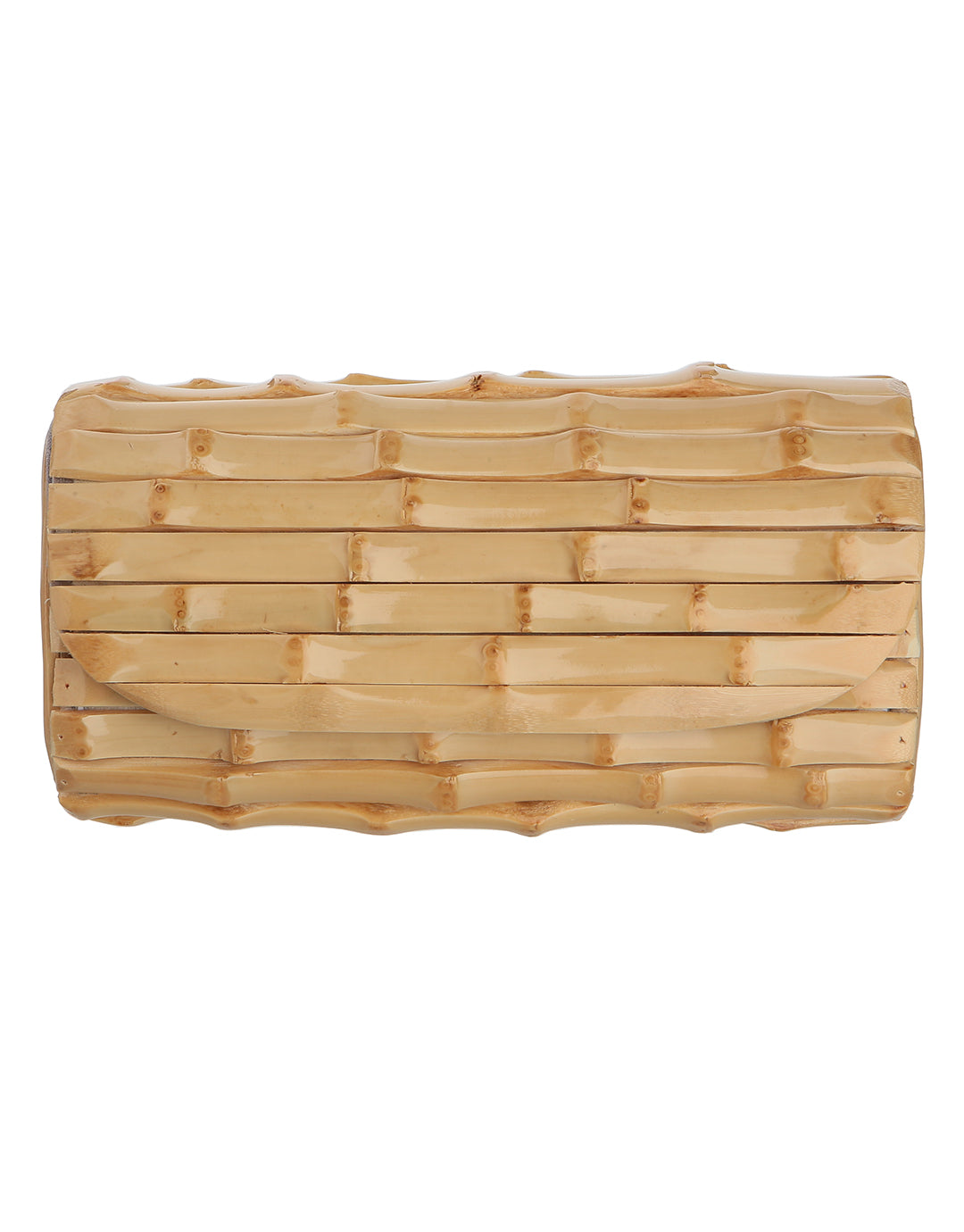 Heidi Klein Savannah Bay Bamboo Clutch Bag - Bamboo