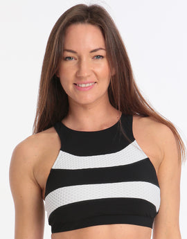 Gottex Profile Formula One Sports Tank - Black White