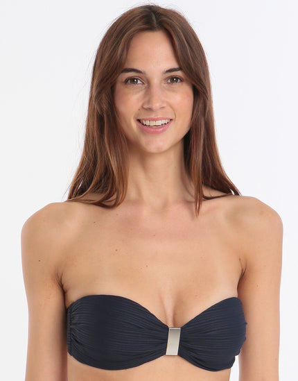Jets Disposition Bandeau Top - Navy