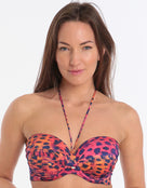 PrimaDonna Sunset Love Padded Strapless Bikini Top - Beach Party