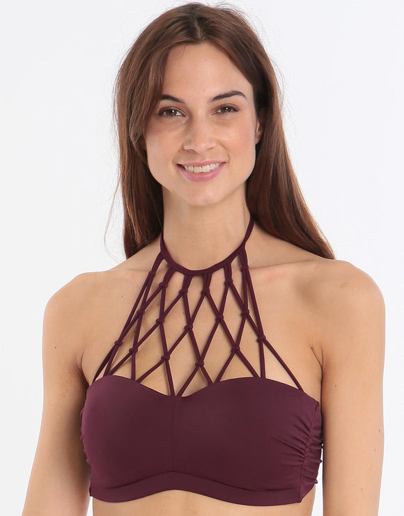 Lingadore Swimwear Explore Macrame Sports Top - Vignetto