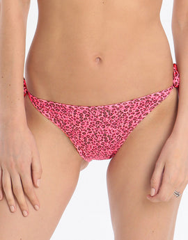 Lingadore Swimwear Festival Tie Side Brief - Animal