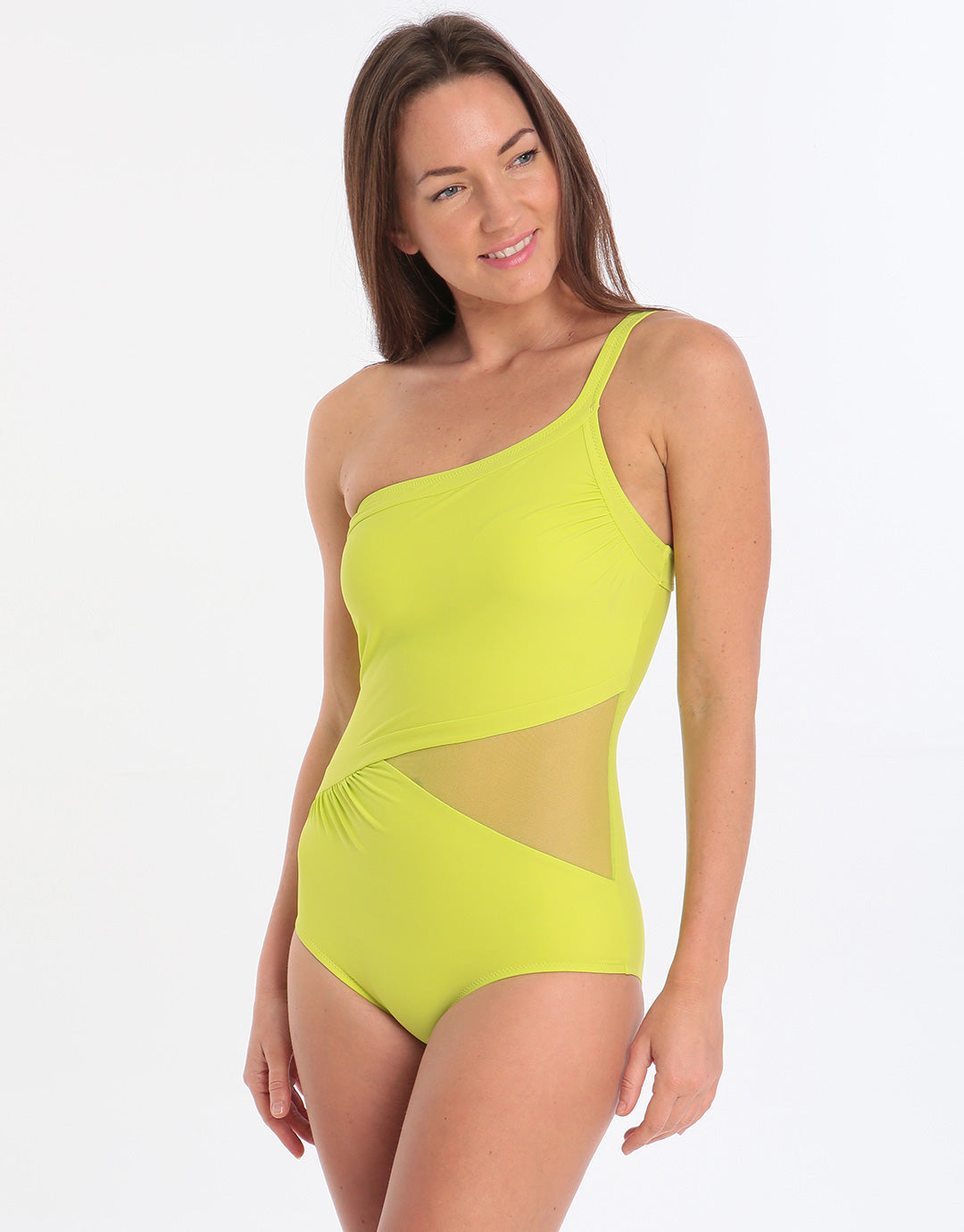 Miradonna Mirachic Althea Swimsuit - Lime