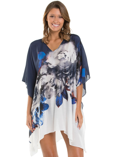Jets Picturesque Kaftan - Ink White
