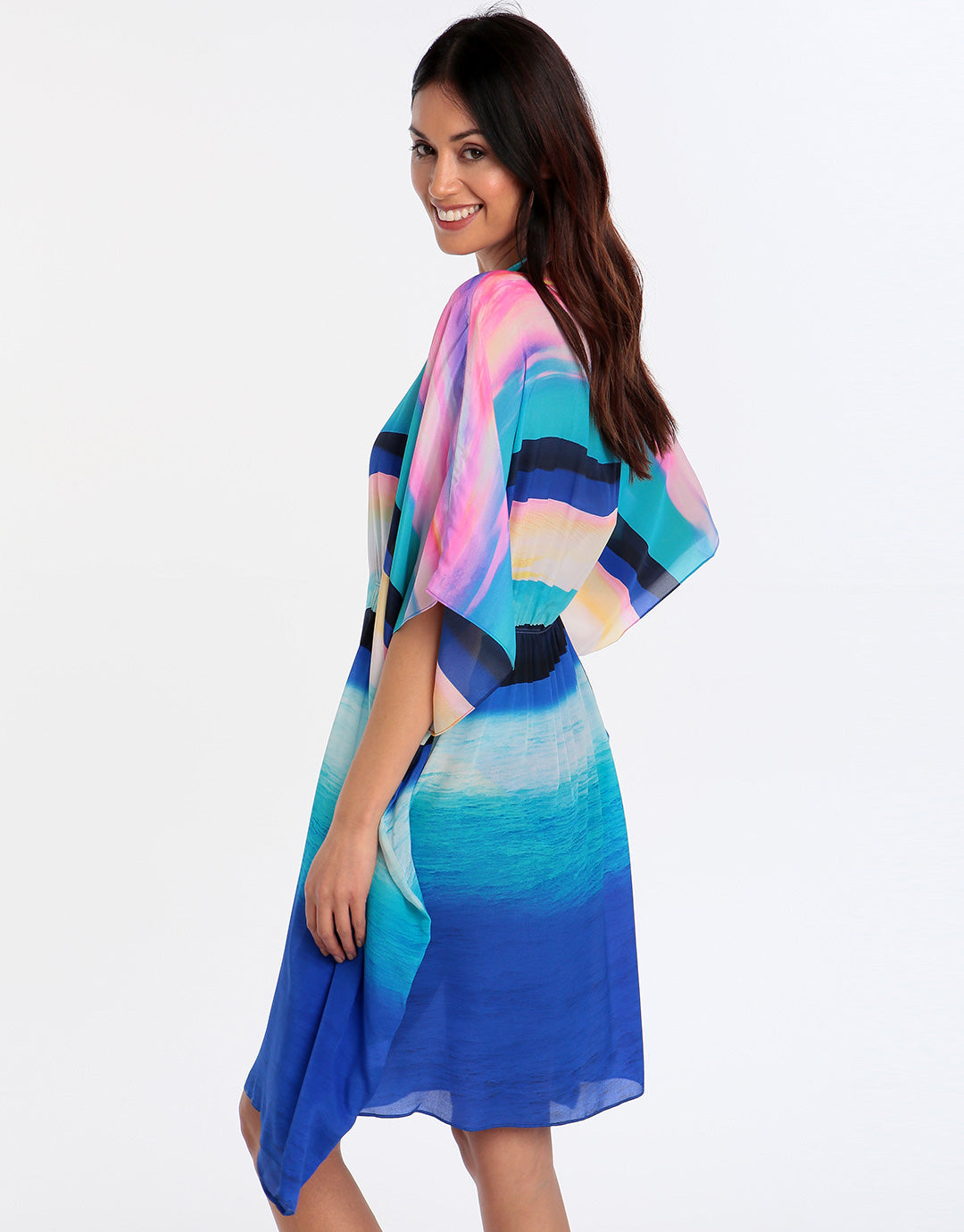 Gottex Seascape Beach Dress - Sunrise