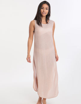 Jets Mirage Tank Maxi Dress - Copper