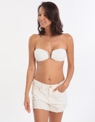 Seafolly Denim Beach Short - White