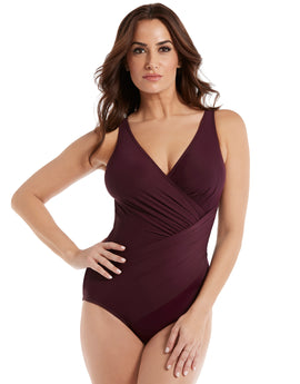 Miraclesuit Must Haves Oceanus Swimsuit - Shiraz
