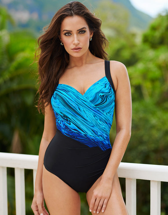 Miraclesuit Blue Pointe Sanibel Swimsuit - Blue