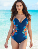 Miraclesuit Samoan Sunset Temptation Swimsuit - Midnight