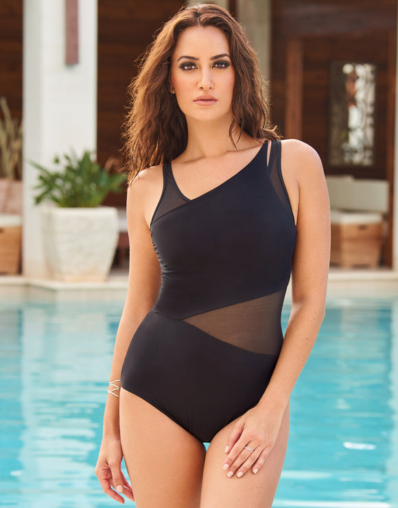 Miraclesuit Illusionist Azura Swimsuit - Black