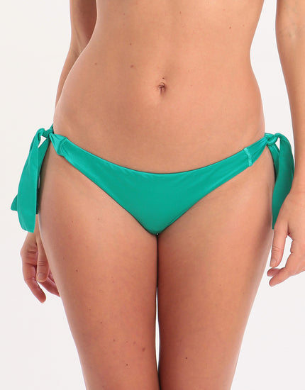 Seafolly Shine On Hipster Tie Side Bikini Bottom - Evergreen