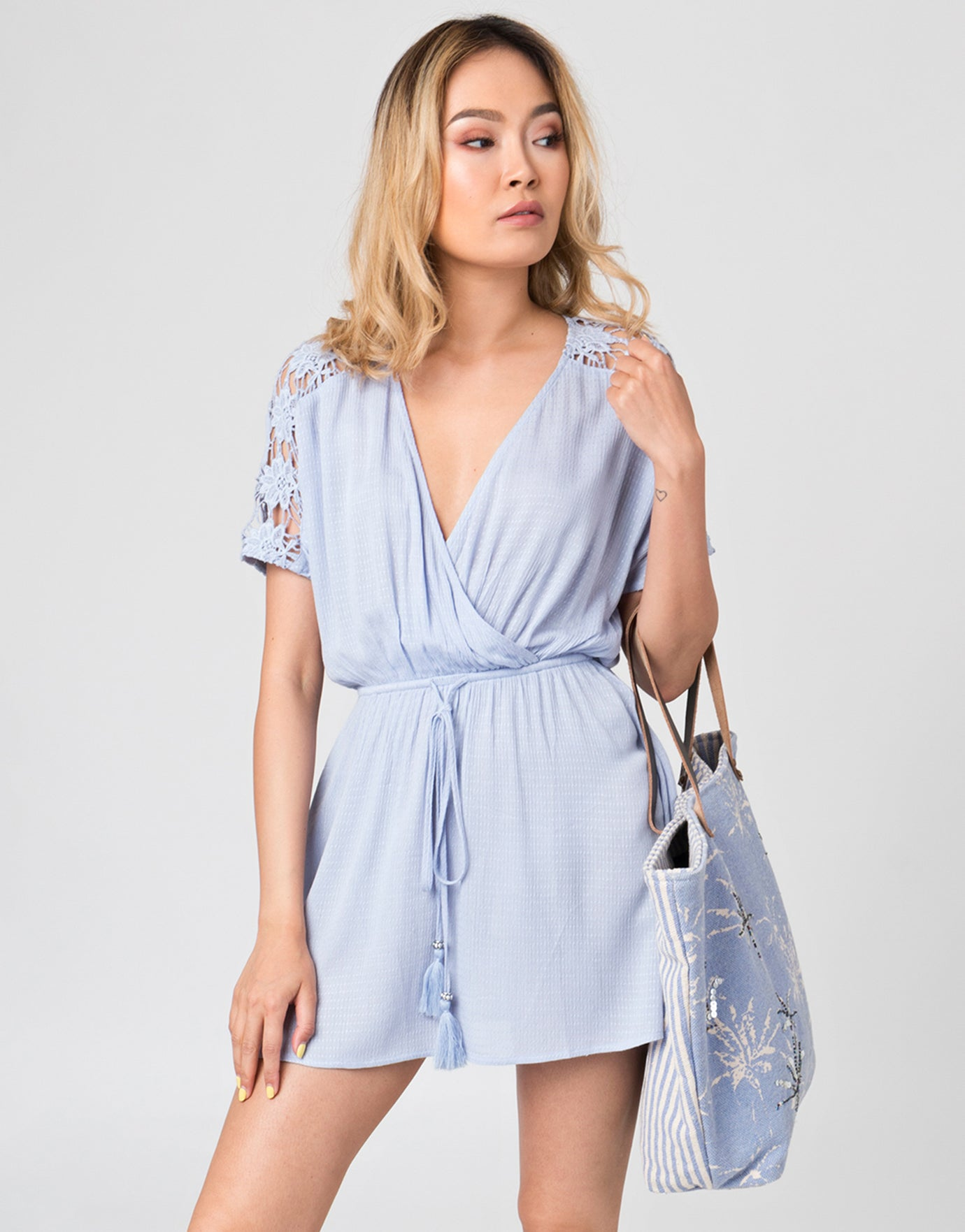 Pia Rossini Aubree Dress - Blue