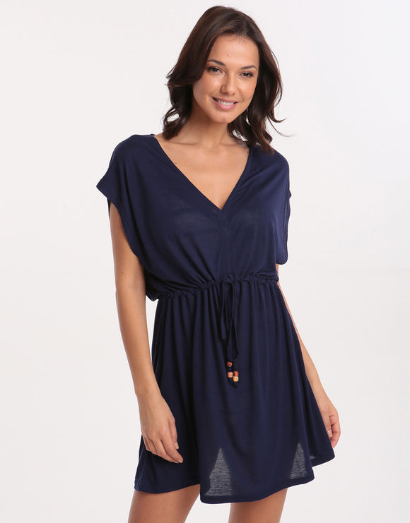 Pia Rossini Evora Beach Dress - Navy