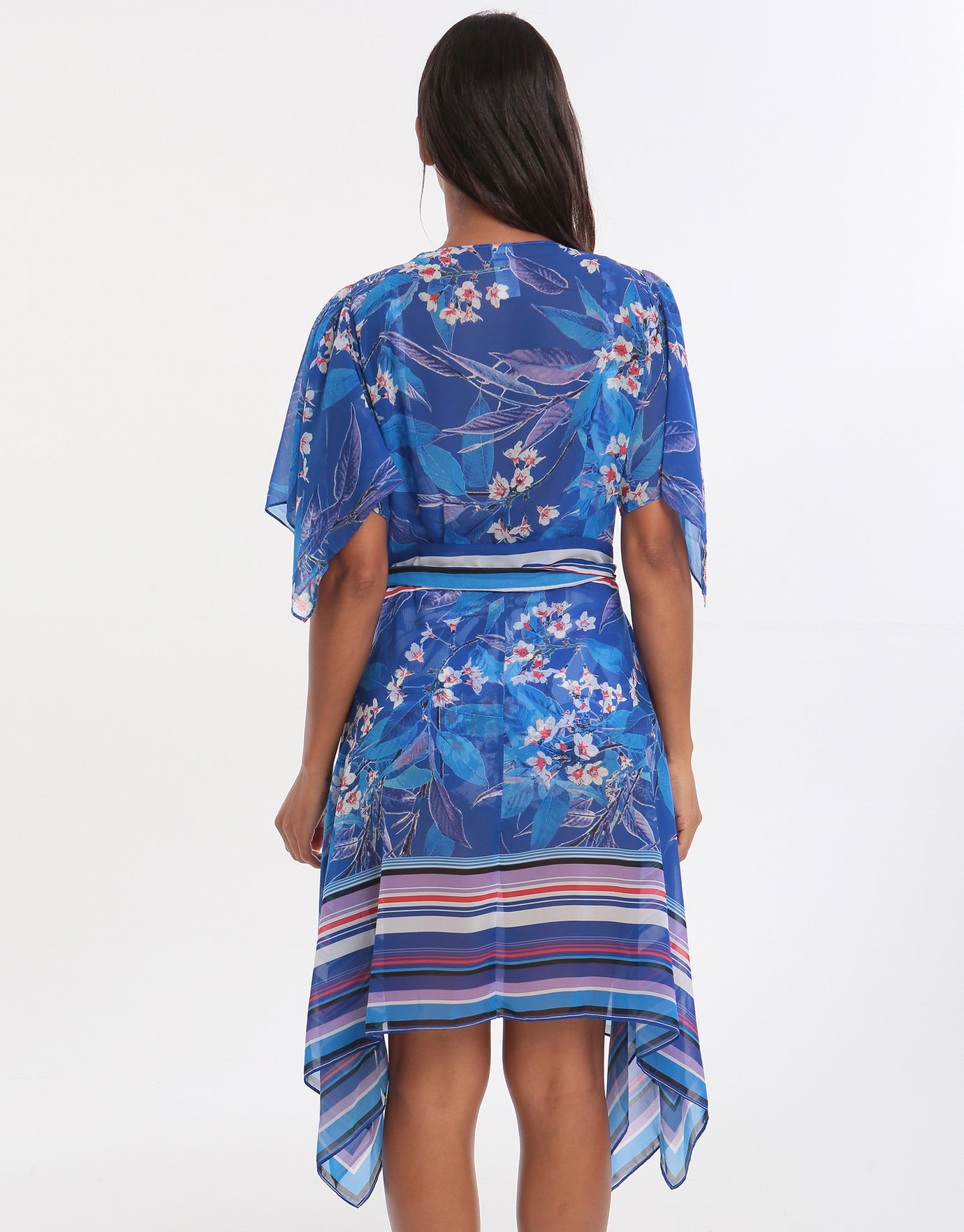 Gottex Sakura Beach Dress - Multi Blue
