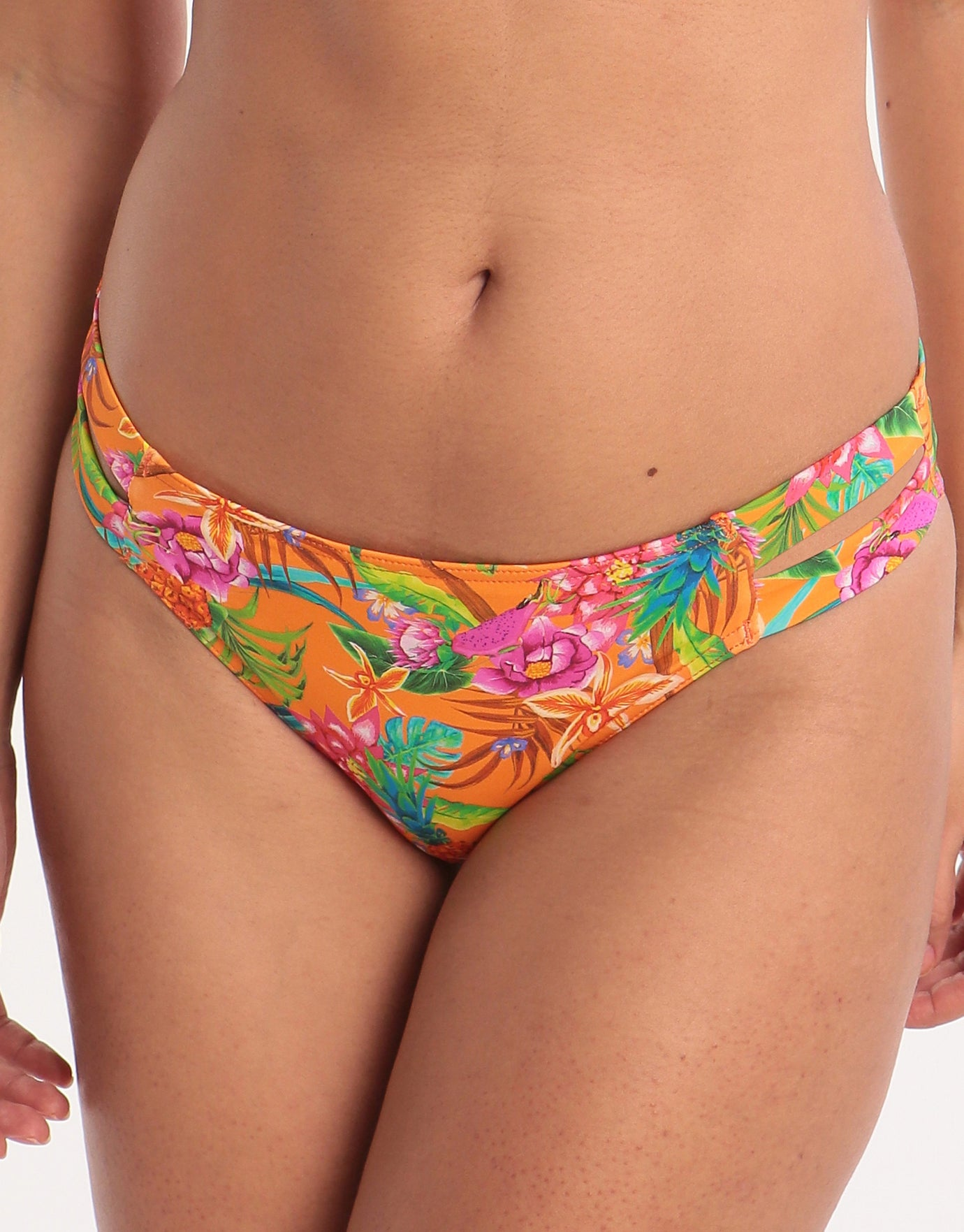 Banana Moon Morango Tamra Hipster Bikini Bottom - Orange