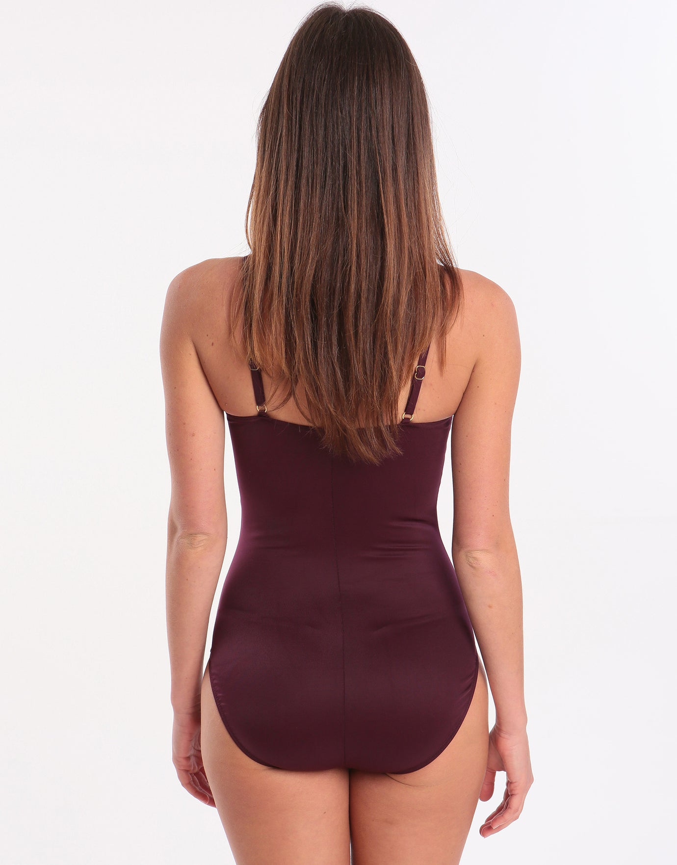 Miraclesuit Rock Solid Love Knot Swimsuit - Shiraz