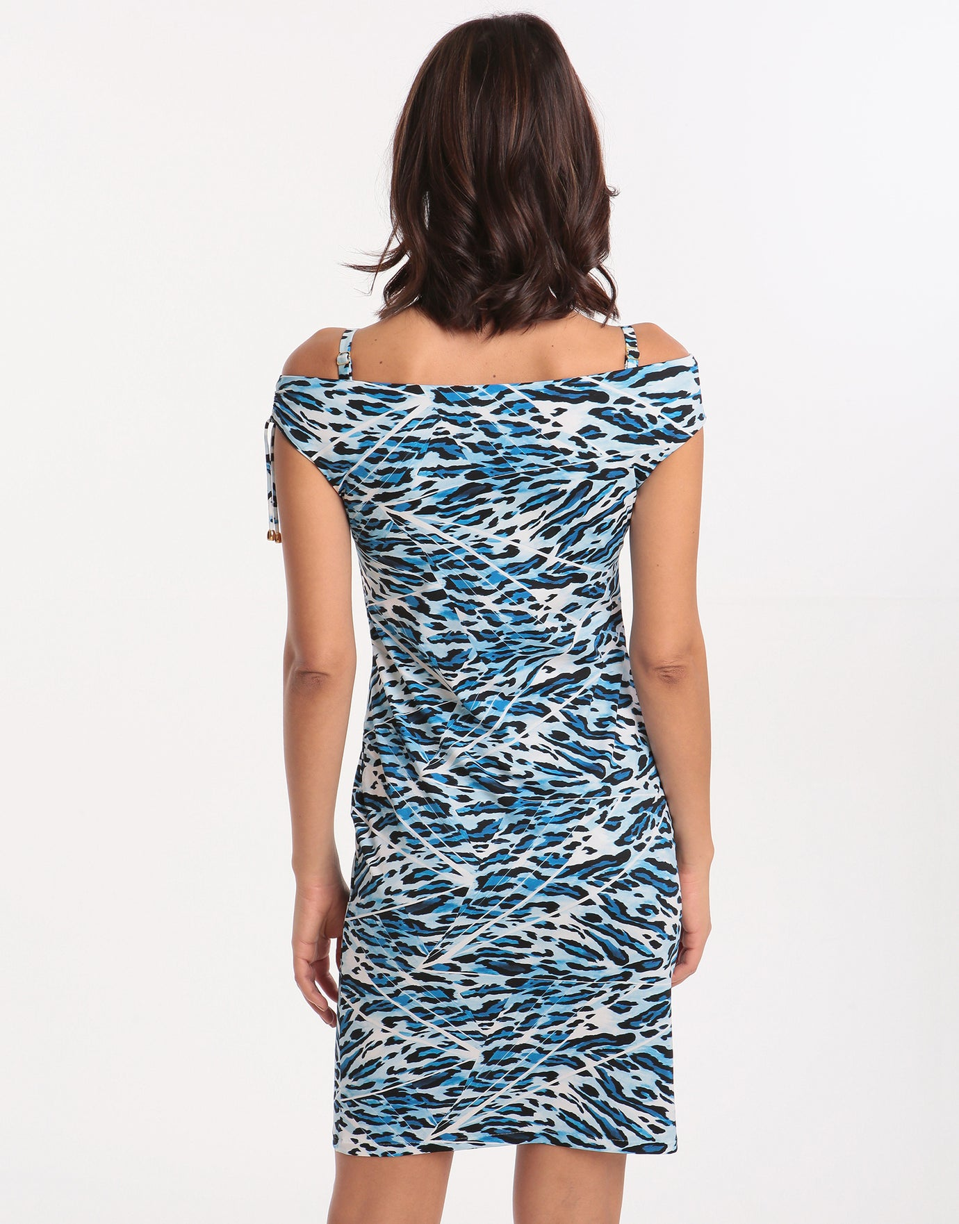 Roidal Africa Fonti Dress - Blue
