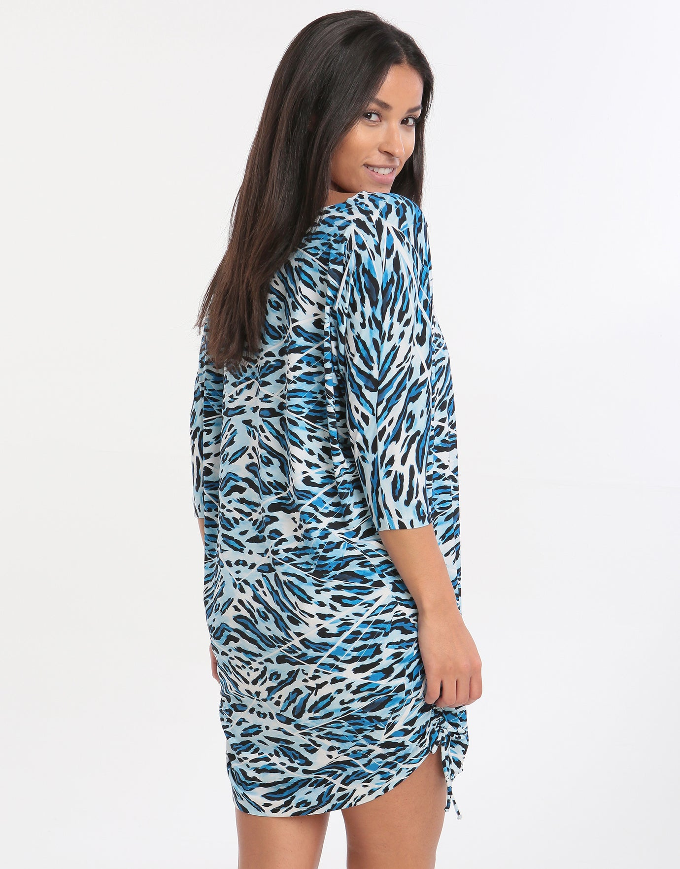 Roidal Africa Doria Dress - Blue