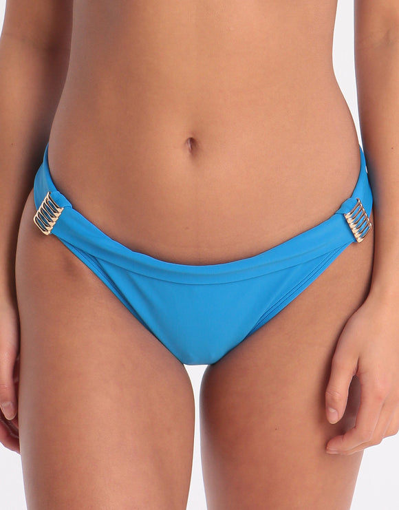 West Seventy Nine Banded Bikini Bottom - Sky Blue