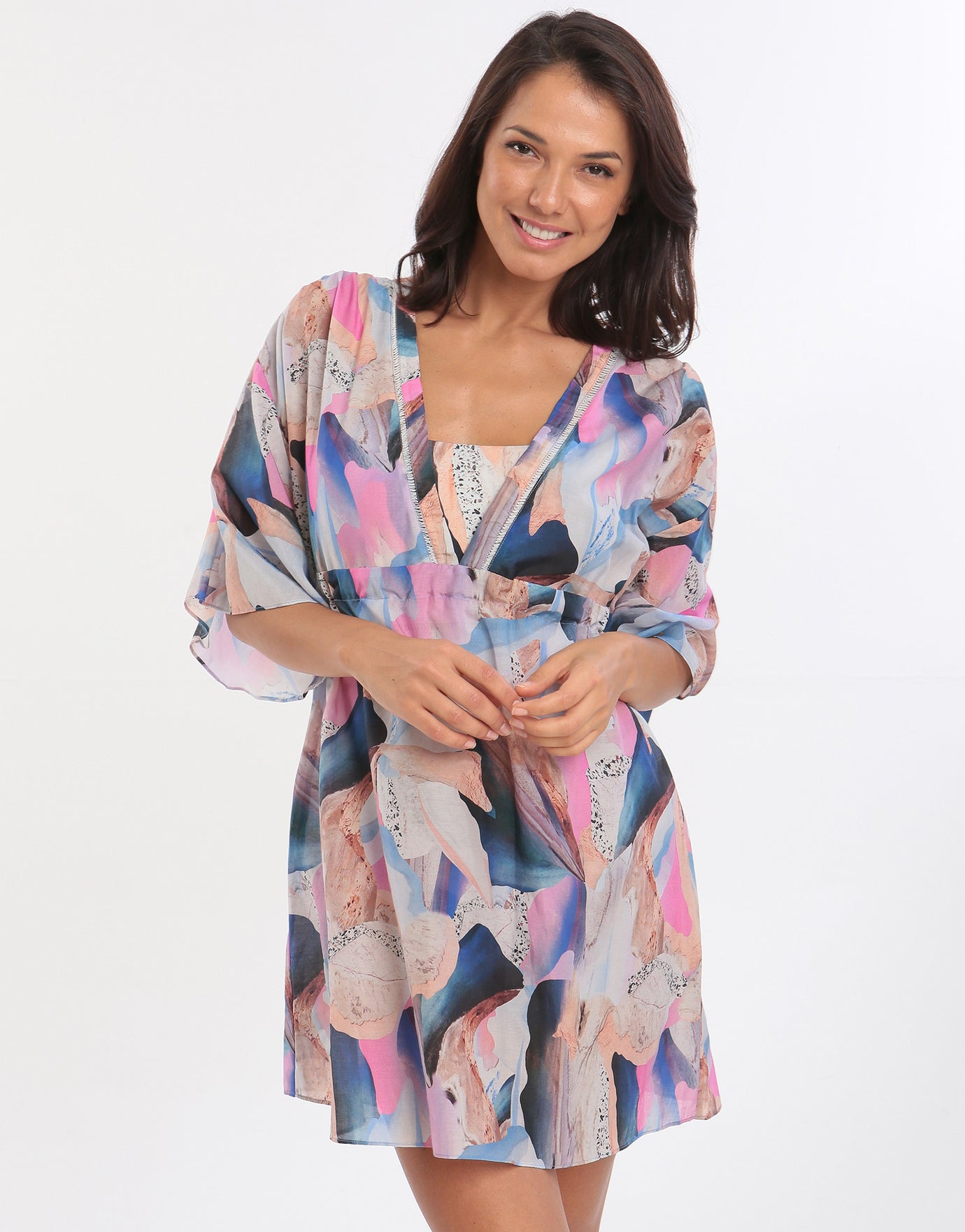 Gottex Dusk to Dawn Beach Dress - Multi