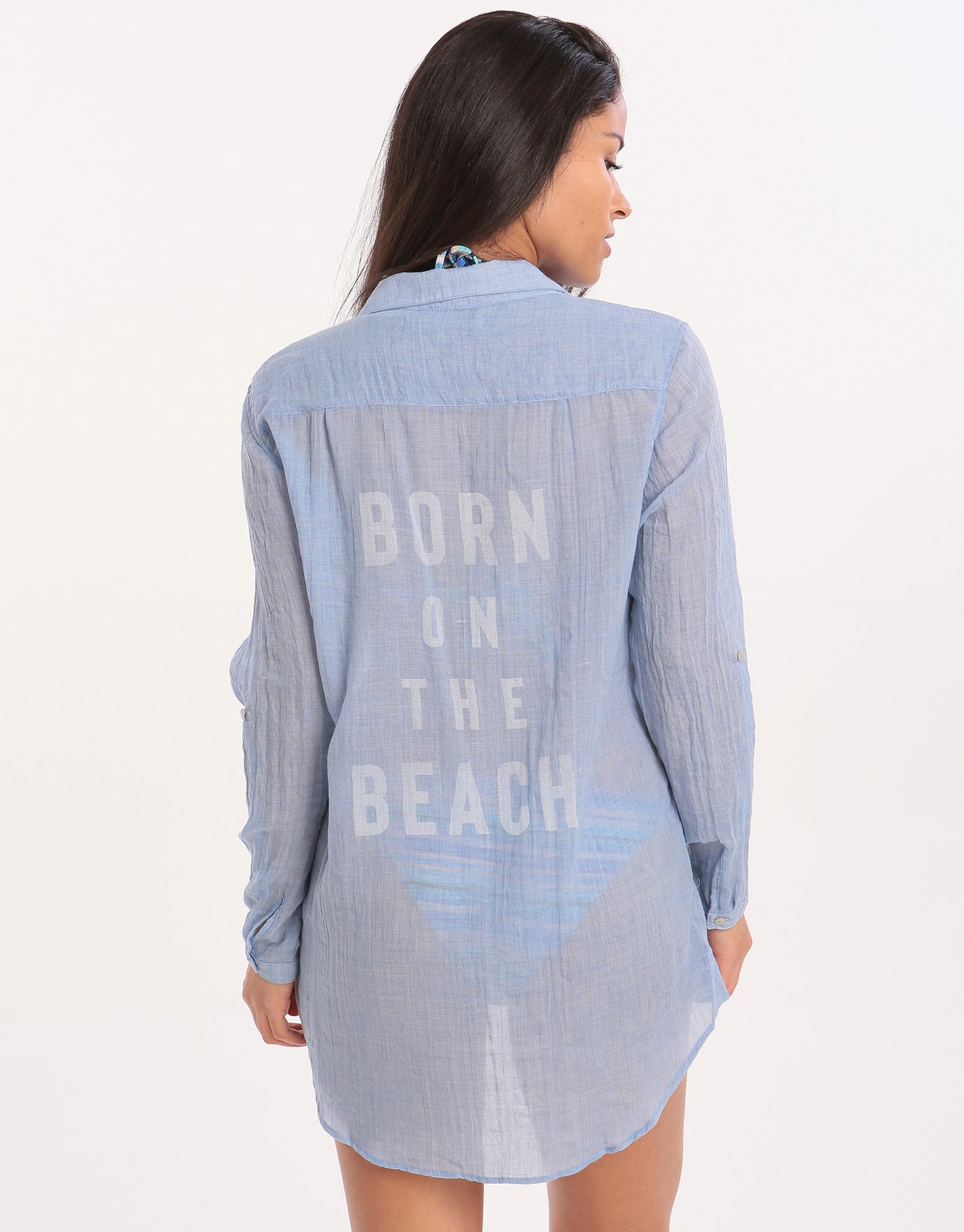 Banana Moon Adilson Gary Beach Shirt - Blue