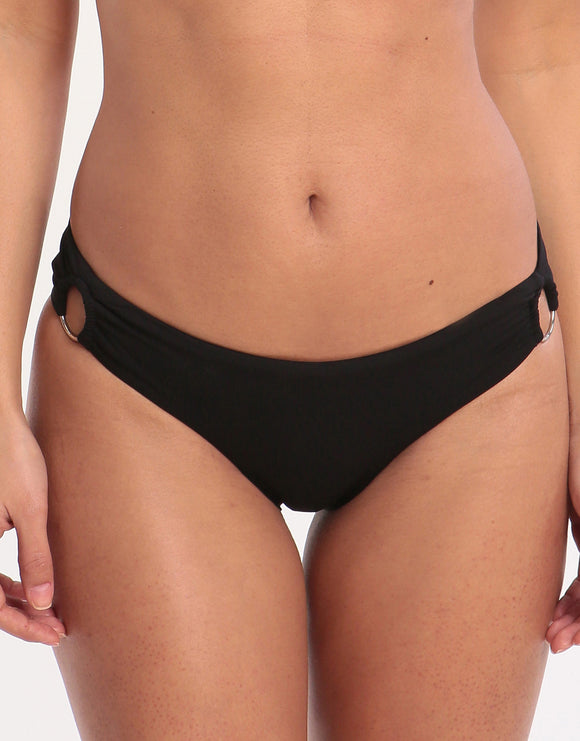 Banana Moon Ring Nalta Bikini Bottom - Black