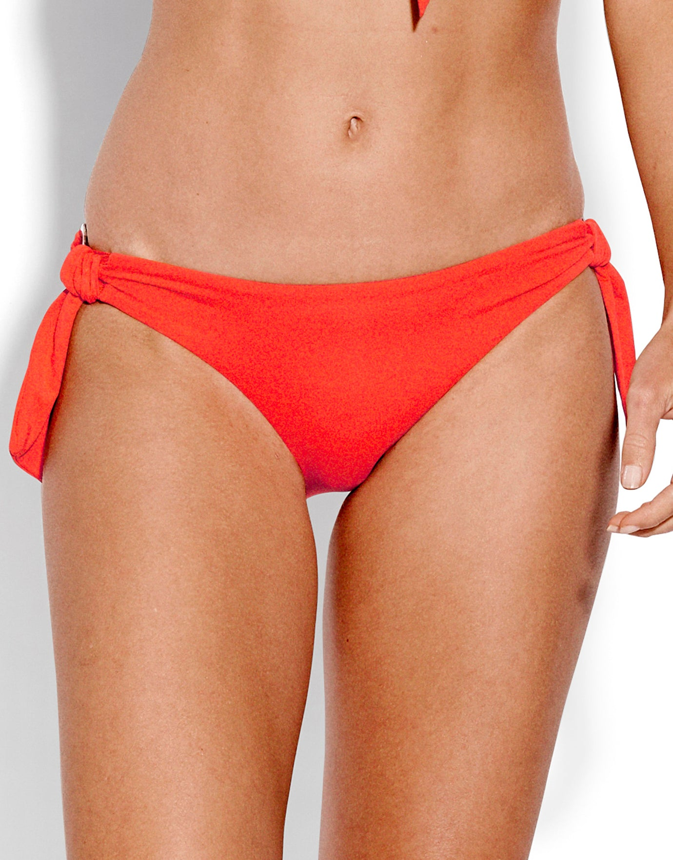 Seafolly Active Ring Side Hipster Bikini Bottom - Tangelo