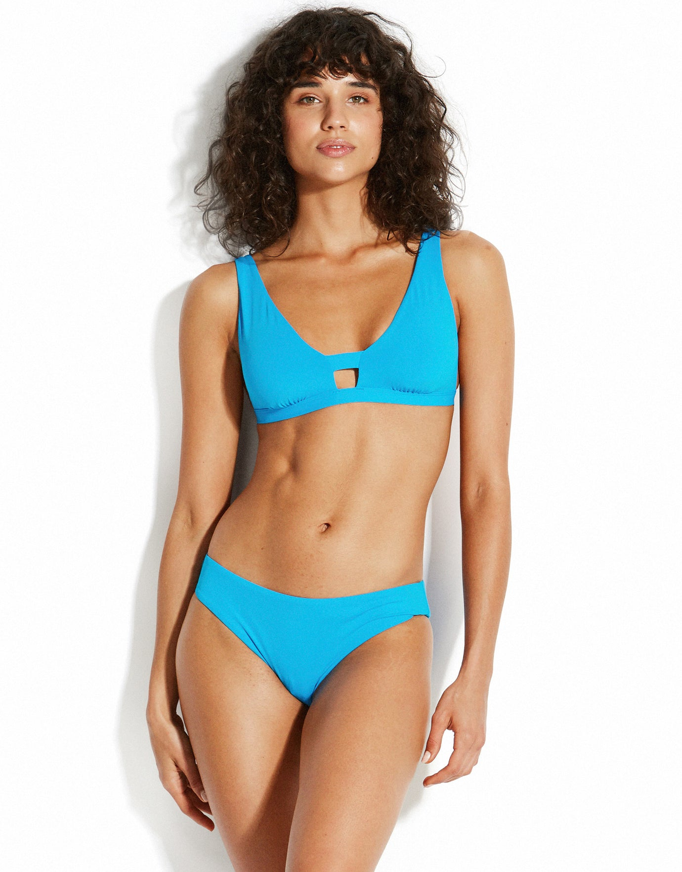 Seafolly Active Hipster Bikini Bottom - Electric Blue
