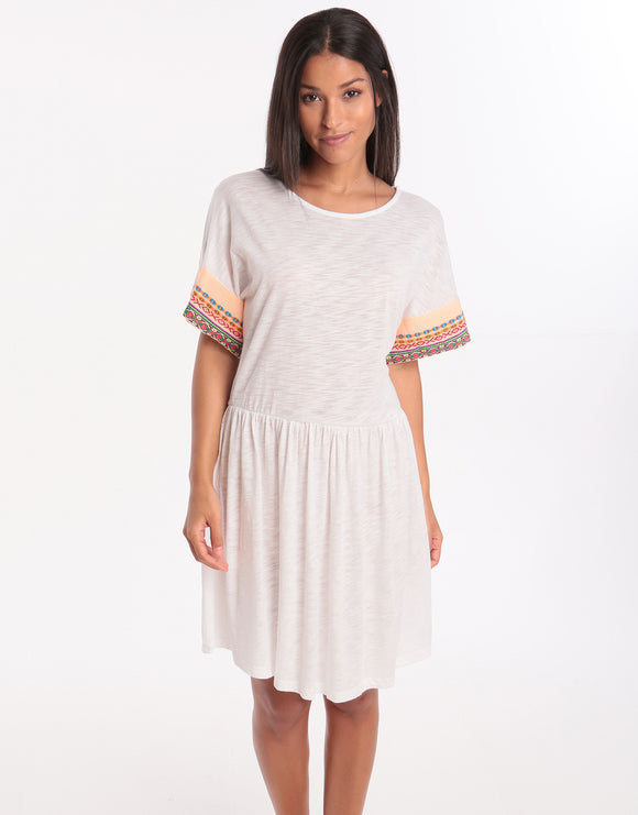Pitusa Little Llama Dress - White