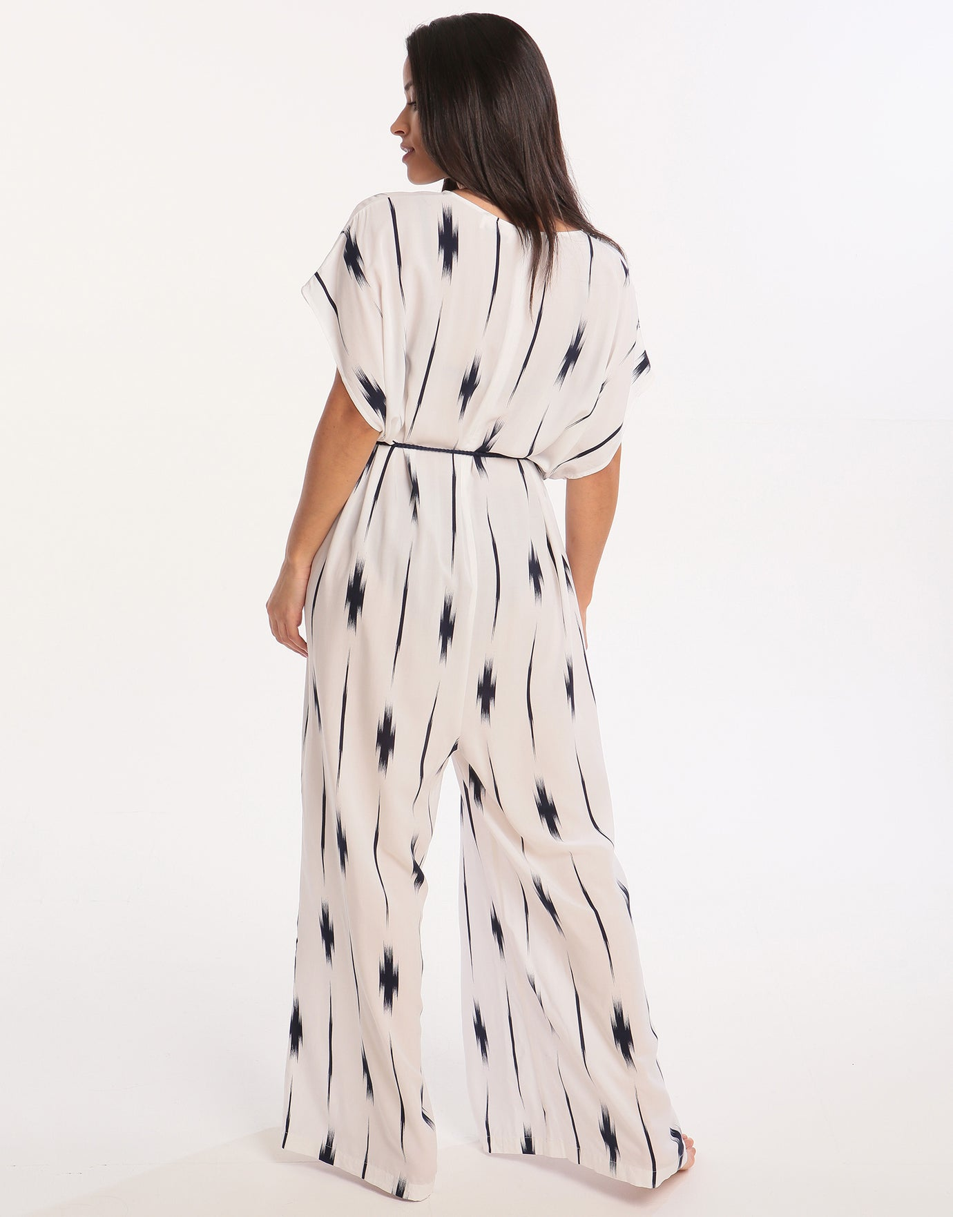 Watercult Artful Dot Jumpsuit - Off White