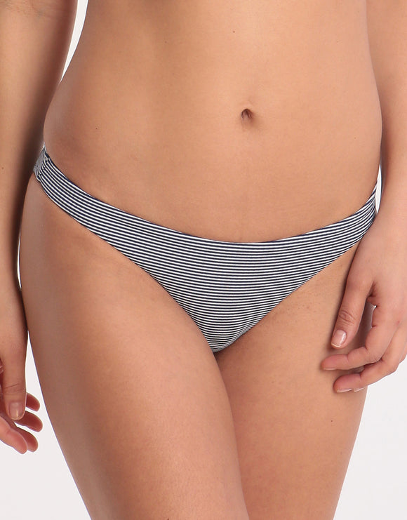 Melissa Odabash St Kitts Bikini Bottom - Navy Gingham