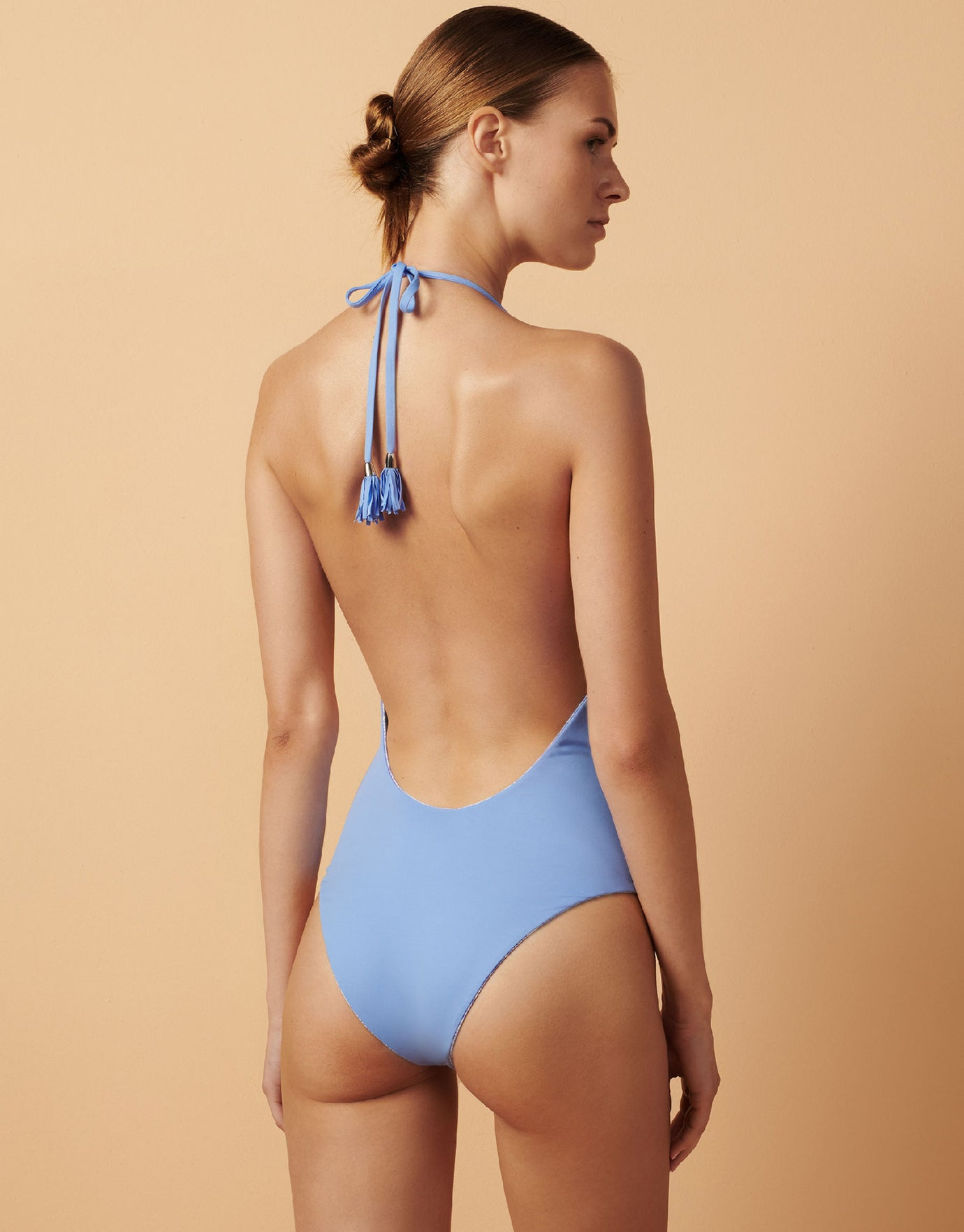 Paolita Bahari Blue Bahari Reversible Swimsuit - Blue