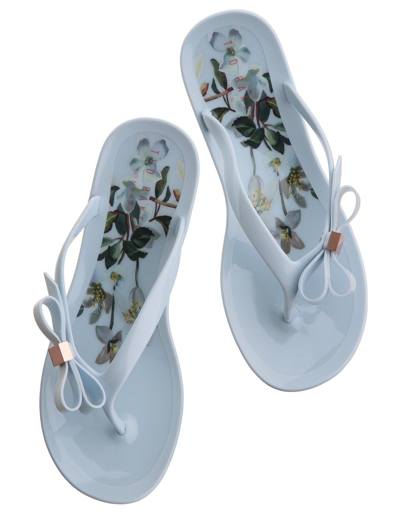 Ted Baker Susziep Flip Flops - Blue Graceful