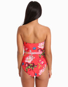 Ted Baker Regana Berry Sundae Cupped Swimsuit - Sweet Chilli