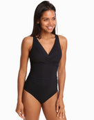 Jets Contour D/DD Underwired Swimsuit - Black