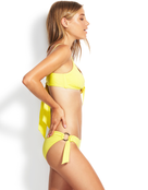 Seafolly Active Ring Side Hipster Bikini Bottom - Limelight