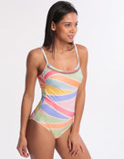 Maryan Mehlhorn Joy Tank Swimsuit - Candy