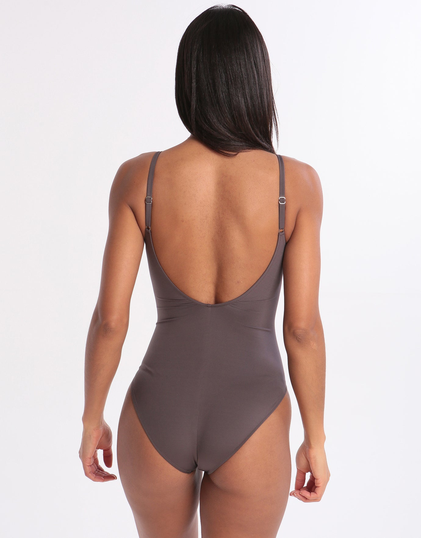 Maryan Mehlhorn Dance Underwired Ruched Fronted Swimsuit - Stardust