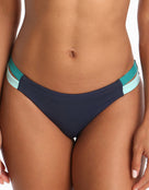 Jets Revolve Side Band Bikini Bottom - Ink /Amazon