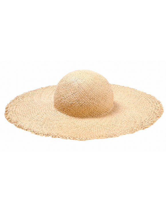Seafolly Oversized Raffia Hat - Natural